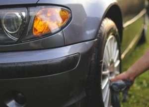 Power Washing Your Car